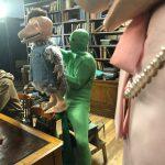 Skittles puppet bird