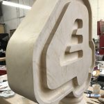 E4 marble logo